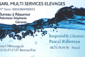 SARL MULTI SERVICES ELEVAGES