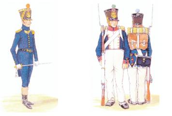 Une compagnie du 32e d'Infanterie s'installe à Réaumur en 1831