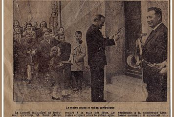 Inauguration de la salle Ferchault