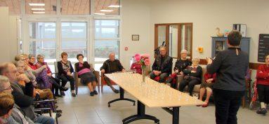 La maison d'accueil reçoit les bénévoles