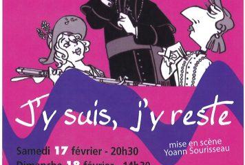 """Le P'tit théâtre Ferchault jouera """"J'y suis, j'y reste"""""""