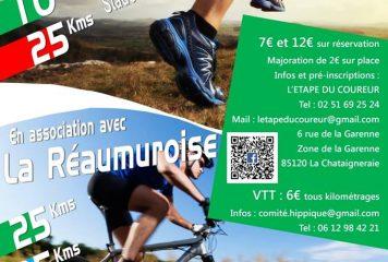 28 octobre – Rando VTT et Trail